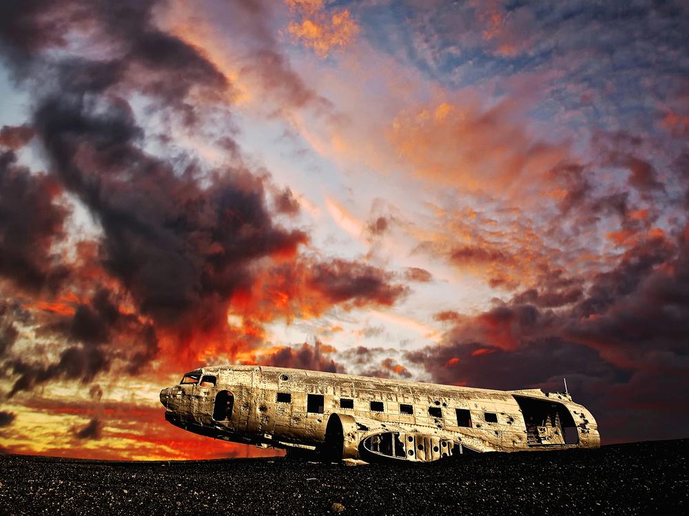 Remains of an Aircraft