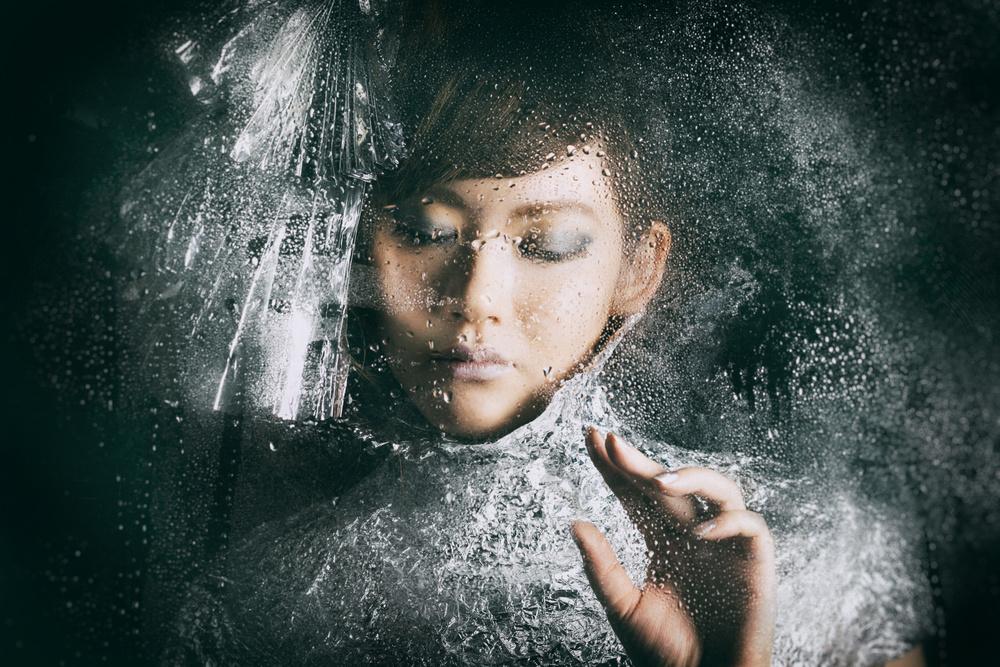 A piece of fine art art photography titled Foil Dress by Daisuke Kiyota