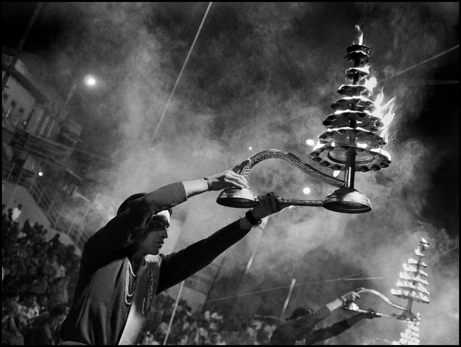 A piece of fine art art photography titled Varanasi by sensorfleck