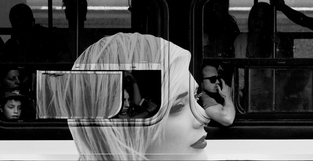 A piece of fine art art photography titled Looking Forward by Jian Wang