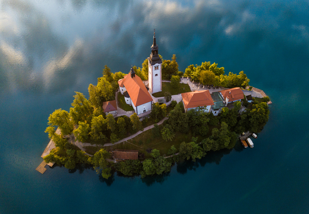 View this piece of fine art photography titled Floating Island by Tzvika Stein