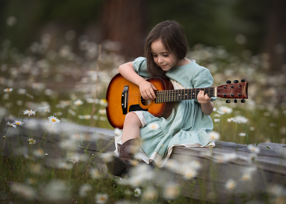 A piece of fine art art photography titled Mia by Lisa Holloway