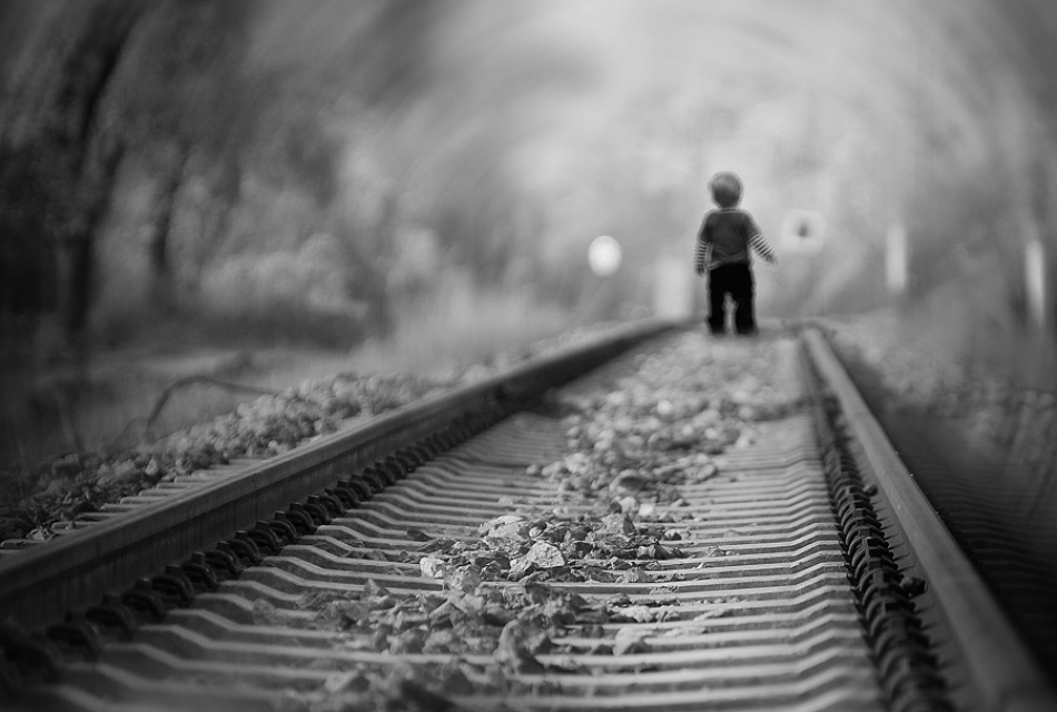 A piece of fine art art photography titled Let You Go Your Own Way by kamenf