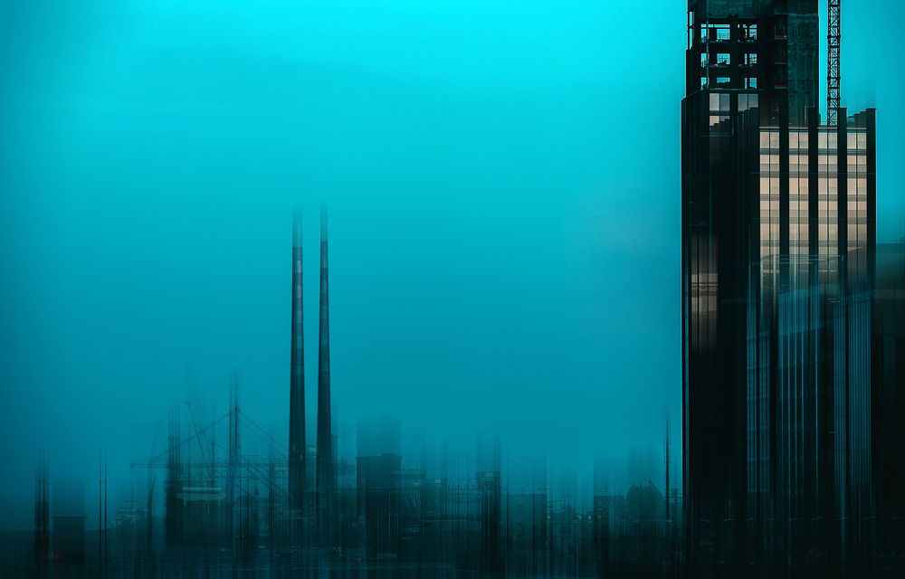 View this piece of fine art photography titled Dublin Chimneys by Charlaine Gerber