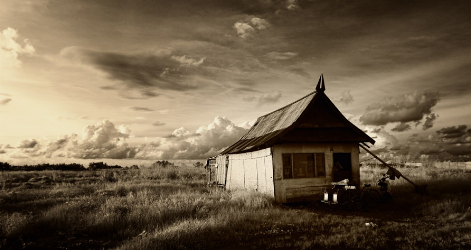 A piece of fine art art photography titled Home Sweet Home by Thaib Chaidar