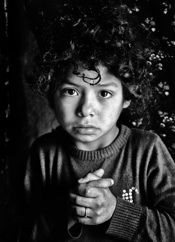 View this piece of fine art photography titled immigrant child by Gilcan Mete