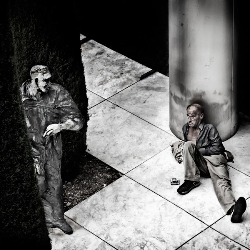 A piece of fine art art photography titled Follow Me by Angéla Vicedomini