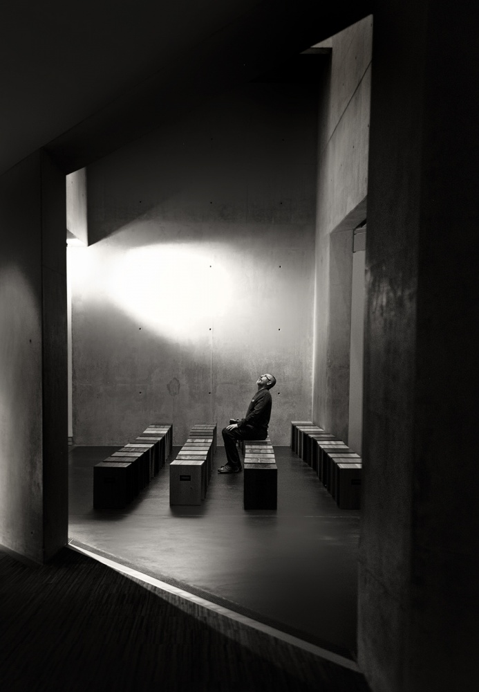 A piece of fine art art photography titled Enlightenment by Izidor Gasperlin