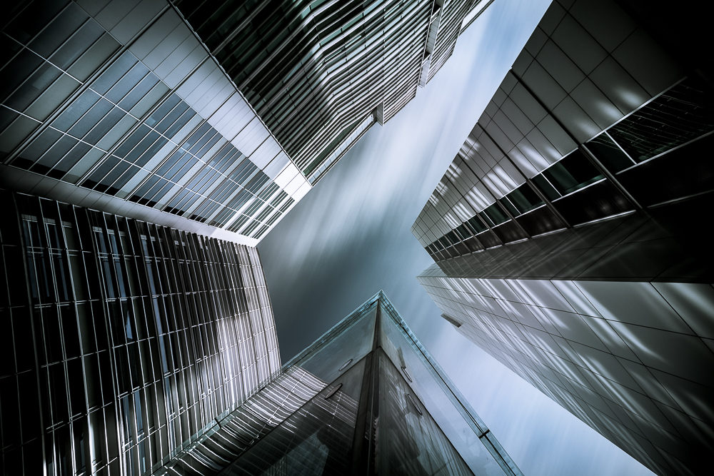 A piece of fine art art photography titled Vertigo by Hugo Augusto