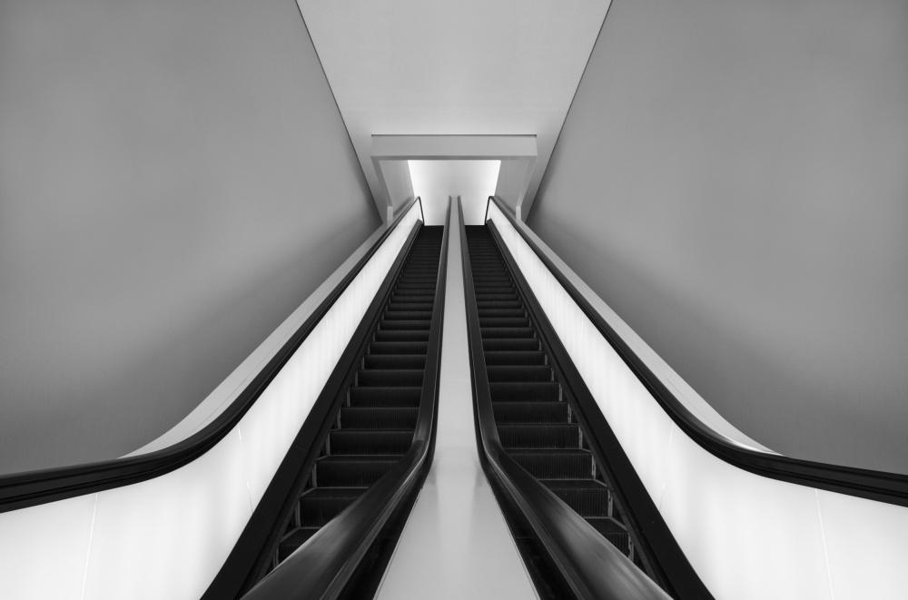 A piece of fine art art photography titled The Skywalk by Olivier Schwartz