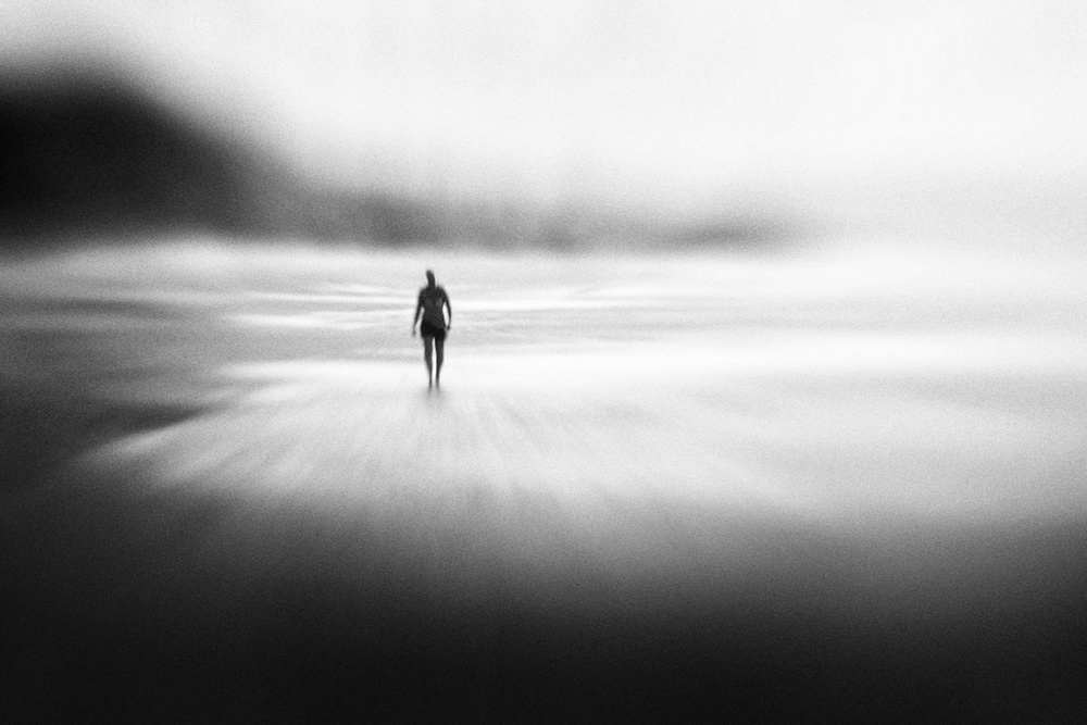 A piece of fine art art photography titled Solitude West Coast Walk by Marianne Siff Kusk