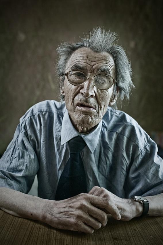 A piece of fine art art photography titled Mr Stanislaw by Marcin Matyja