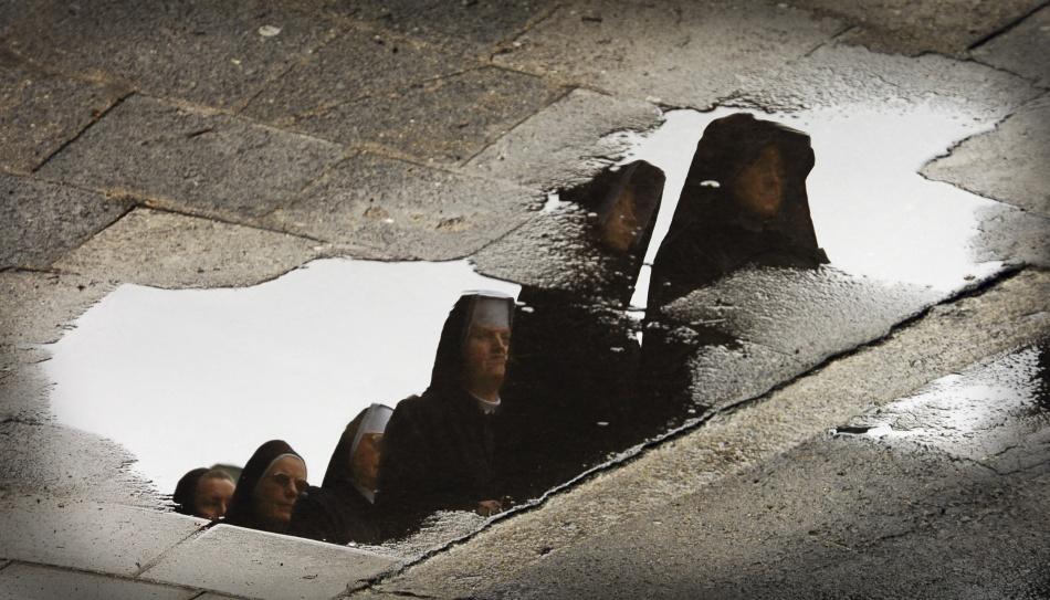 A piece of fine art art photography titled In Silence by Jacek Stefan