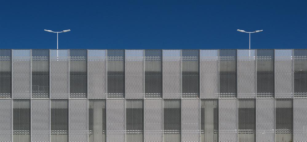 A piece of fine art art photography titled Wall Patterns by Jef Van den Houte