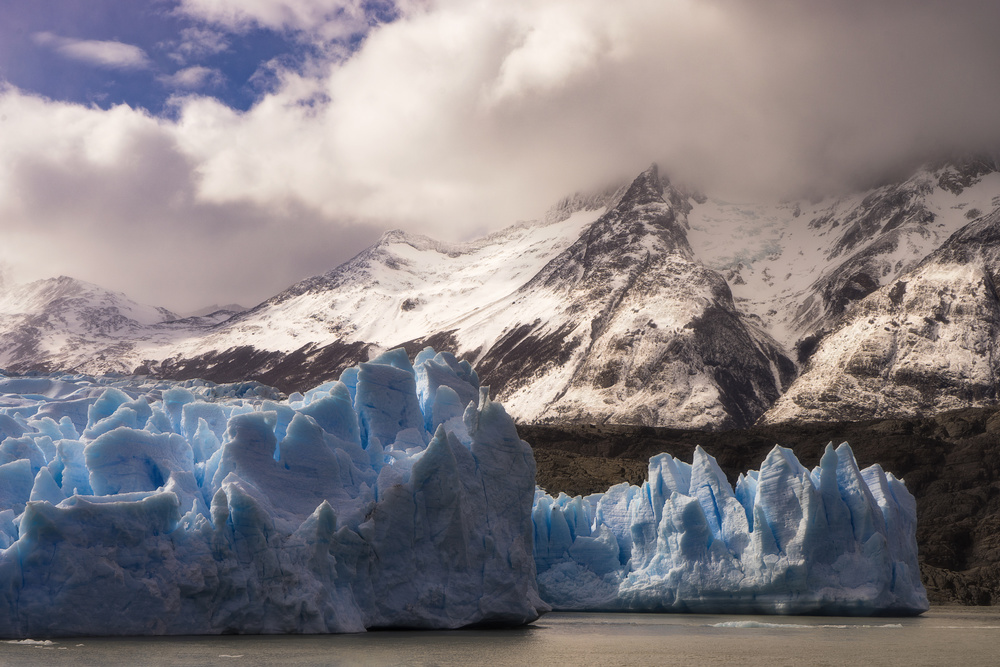 View this piece of fine art photography titled Glacier Grey by Pablo Viedma