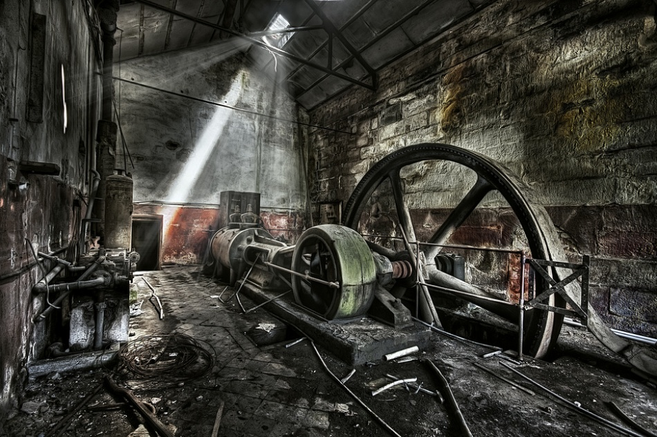 A piece of fine art art photography titled Welcome to the Machine by Andrej Nemetzkij