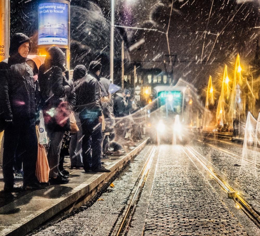 A piece of fine art art photography titled Dublin by Maciej Przeklasa