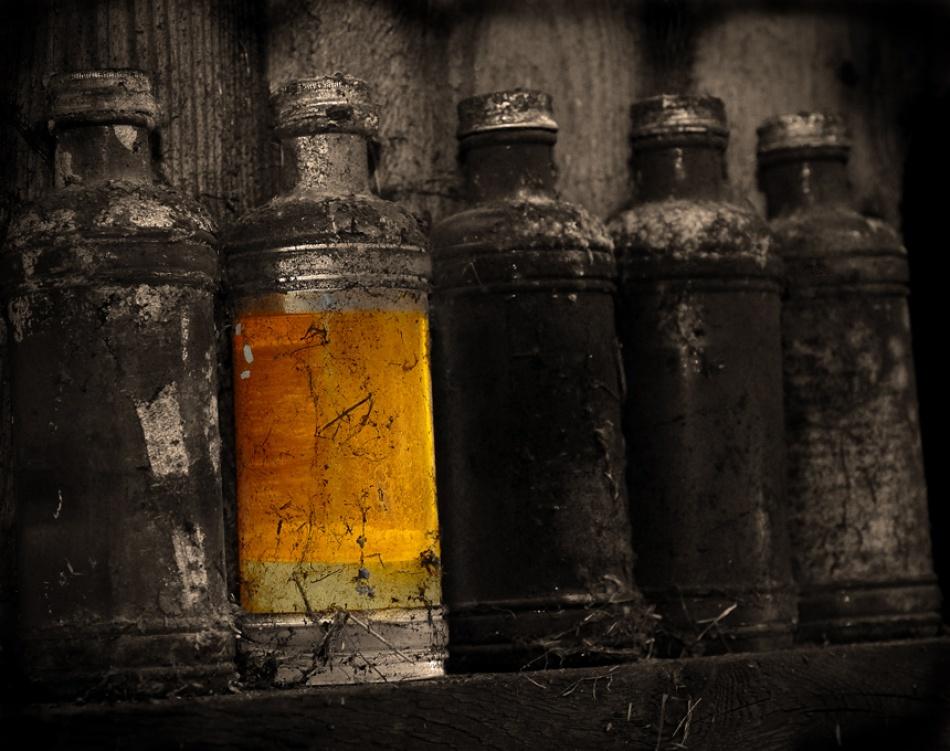 A piece of fine art art photography titled Elixir by Bjorn Leirvik