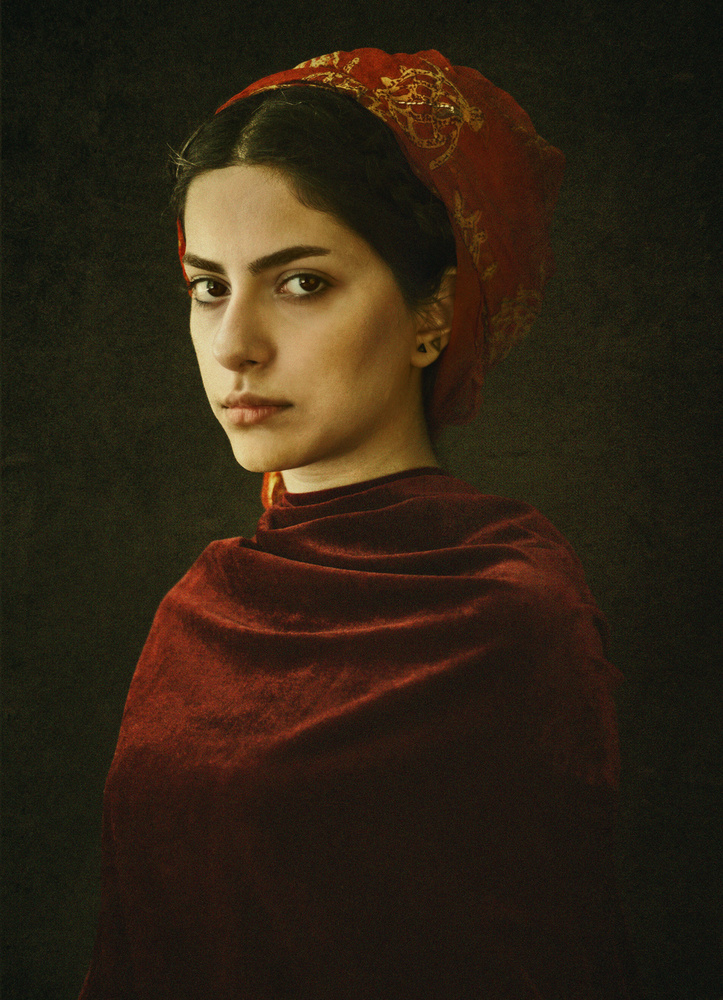 A piece of fine art art photography titled Untitled by Elnaz Abedi