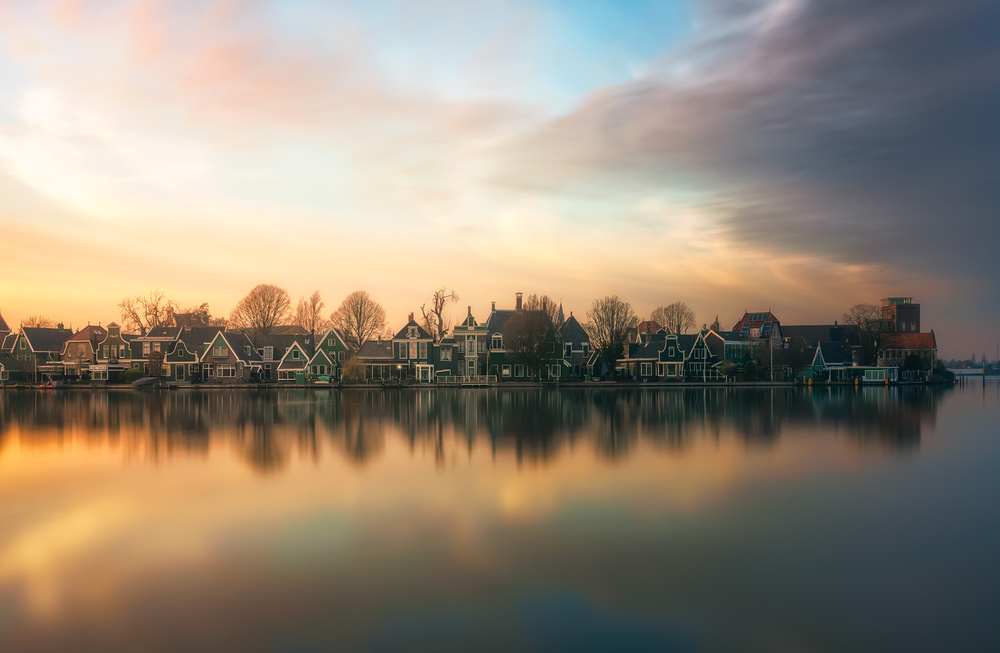 A piece of fine art art photography titled Netherlands Somewhere! by joanaduenas