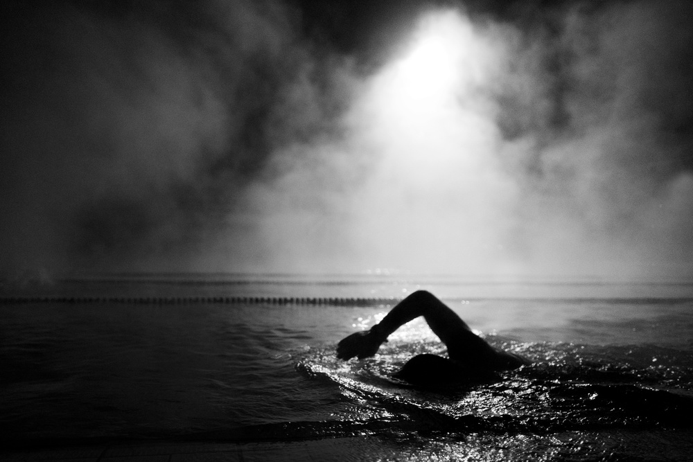 View this piece of fine art photography titled  morning training by Martina Dimunová