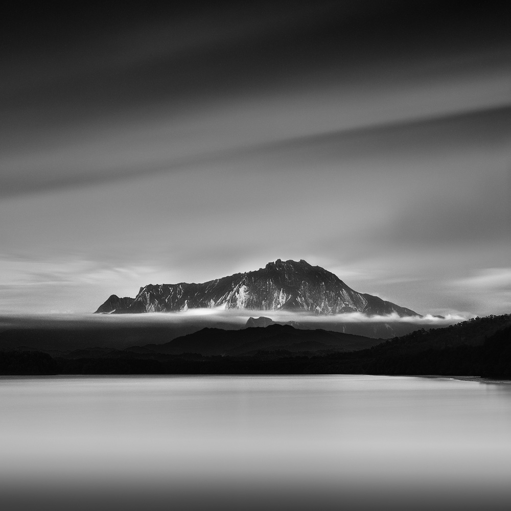A piece of fine art art photography titled Mount Kinabalu by Patricia Soon