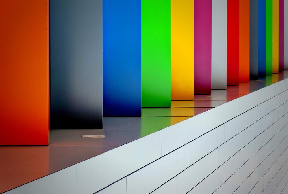A piece of fine art art photography titled So Much Colour by Jeroen van de Wiel