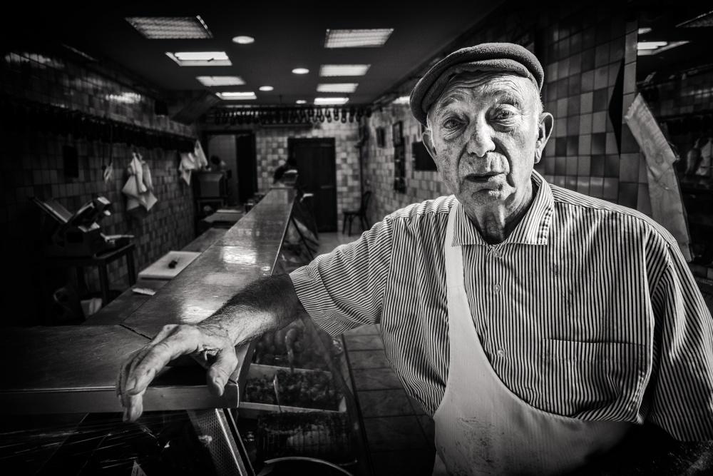 A piece of fine art art photography titled The Butcher by JP. Zanotti