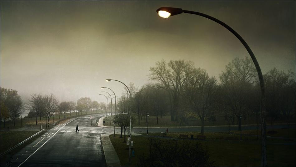 Foggy mourning