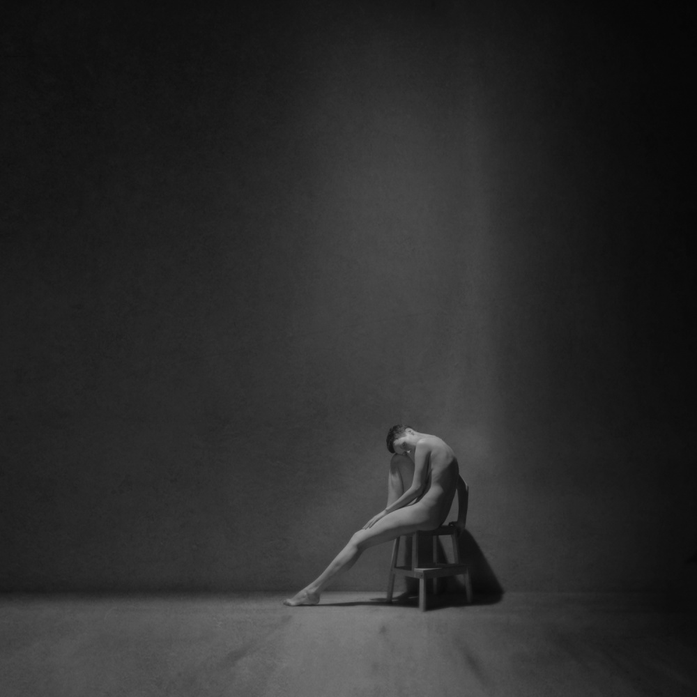 A piece of fine art art photography titled Emptiness by Yaroslav Vasiliev-Apostol