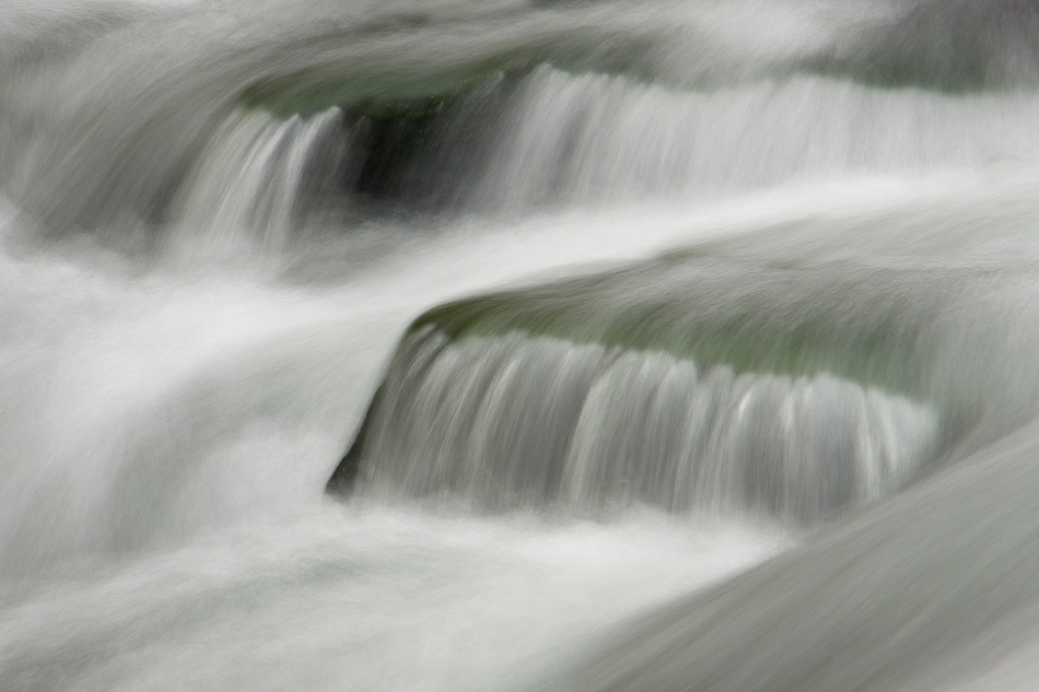 A piece of fine art art photography titled Flow by Doug Roane