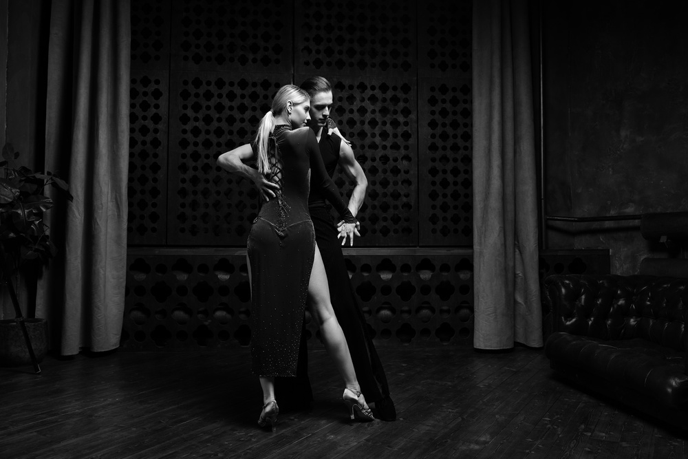 A piece of fine art art photography titled Dance by Boris Belokonov
