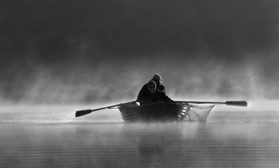 A piece of fine art art photography titled Fishing Time by acrux/Kowalkowski Rafal