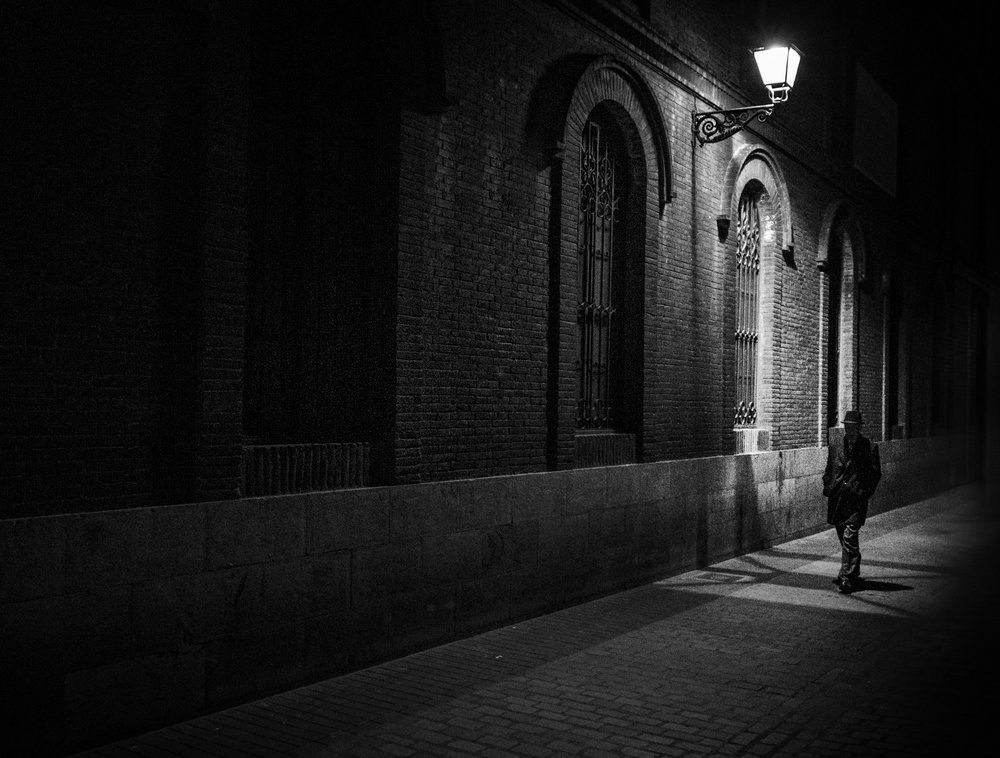 View this piece of fine art photography titled STRANGERS IN THE NIGHT by oskarRLS