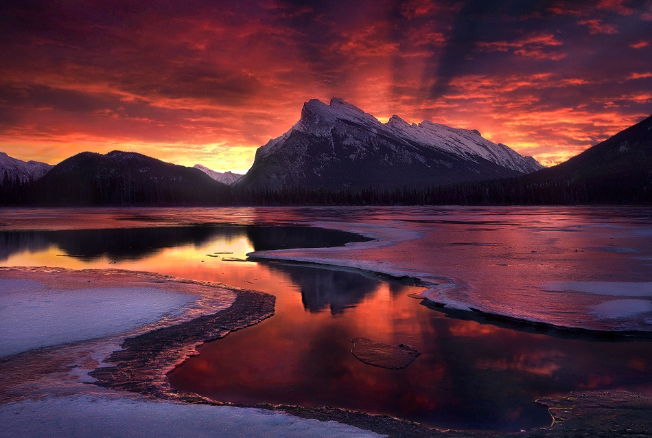 A piece of fine art art photography titled The Beginning by Marc Adamus