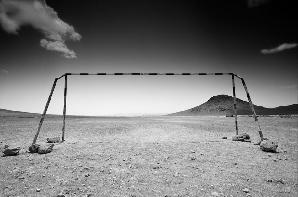 A piece of fine art art photography titled Emptiness by Sebastian Dziuba