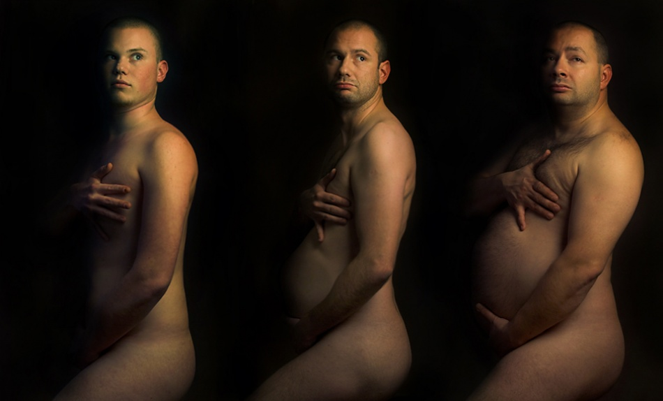 A piece of fine art art photography titled Stages of Manhood by Balazs Pataki
