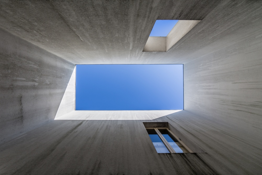 A piece of fine art art photography titled See the Blue by Filipe P Neto