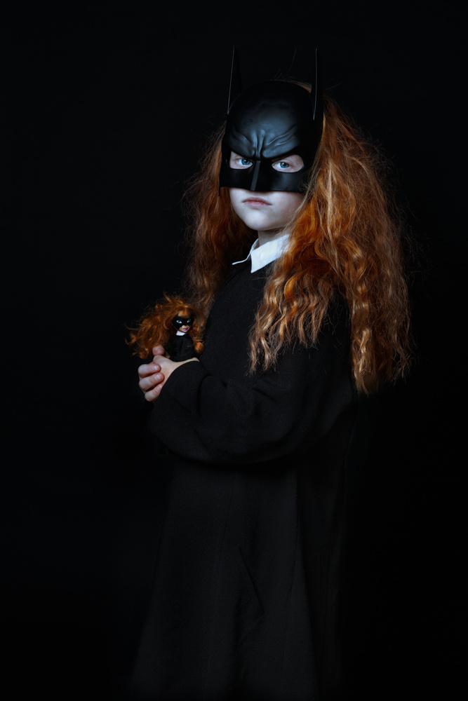 View this piece of fine art photography titled Batgirl by Marian Korte