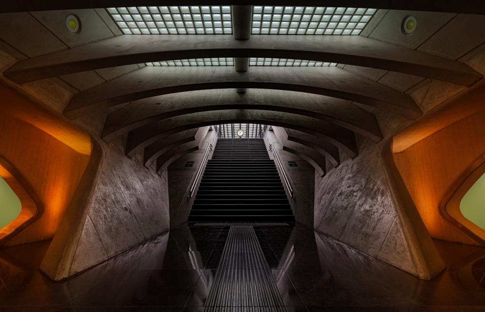A piece of fine art art photography titled Time Machine by Michiel Hageman