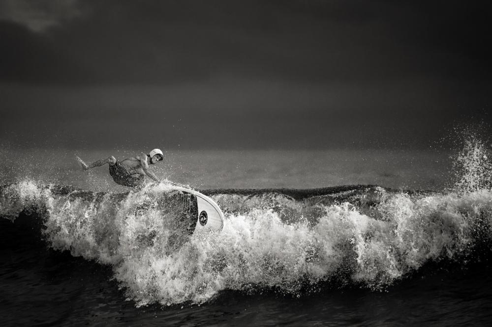 A piece of fine art art photography titled Precarious Balance by Mathilde Guillemot