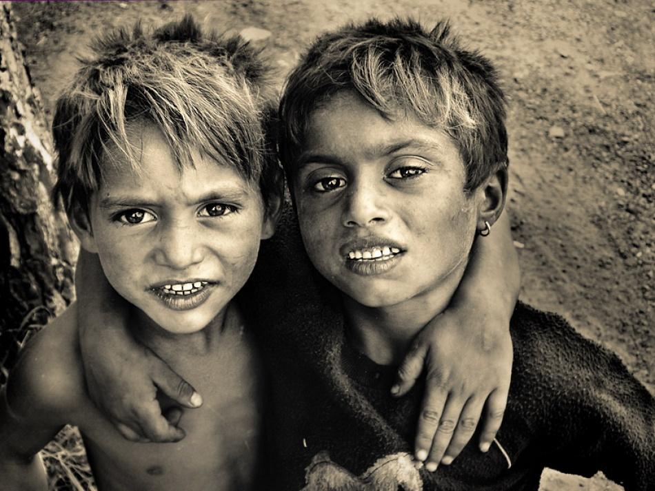 A piece of fine art art photography titled Friends by KaliAkra