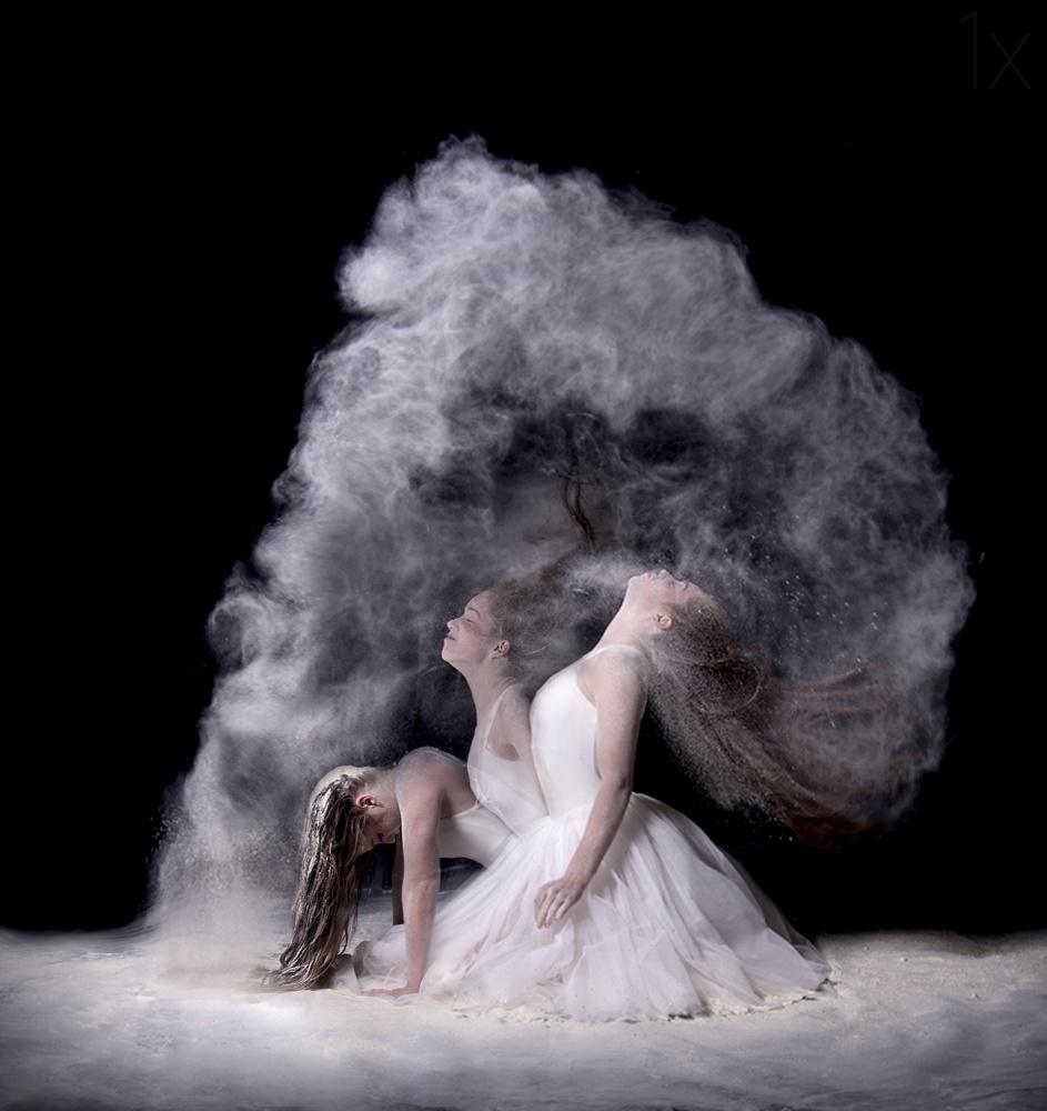 A piece of fine art art photography titled Powder by Pauline Pentony MA ARPS DPAGB