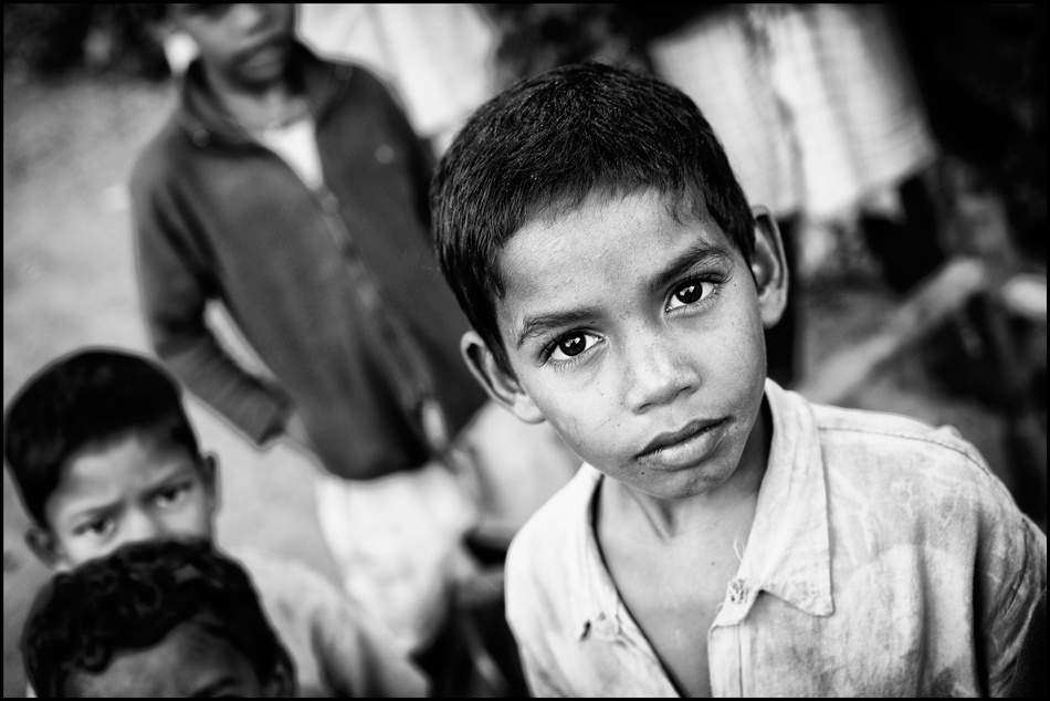 A piece of fine art art photography titled Small Boy With Big Dreams by Robert