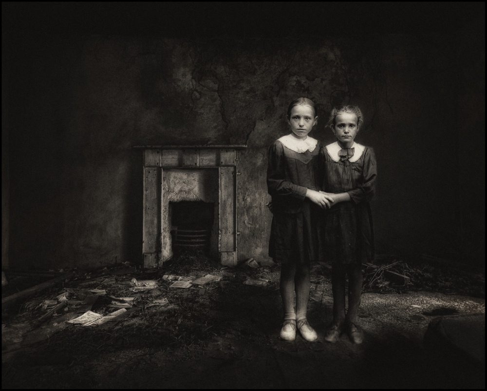A piece of fine art art photography titled Sisters by Joe Kennedy