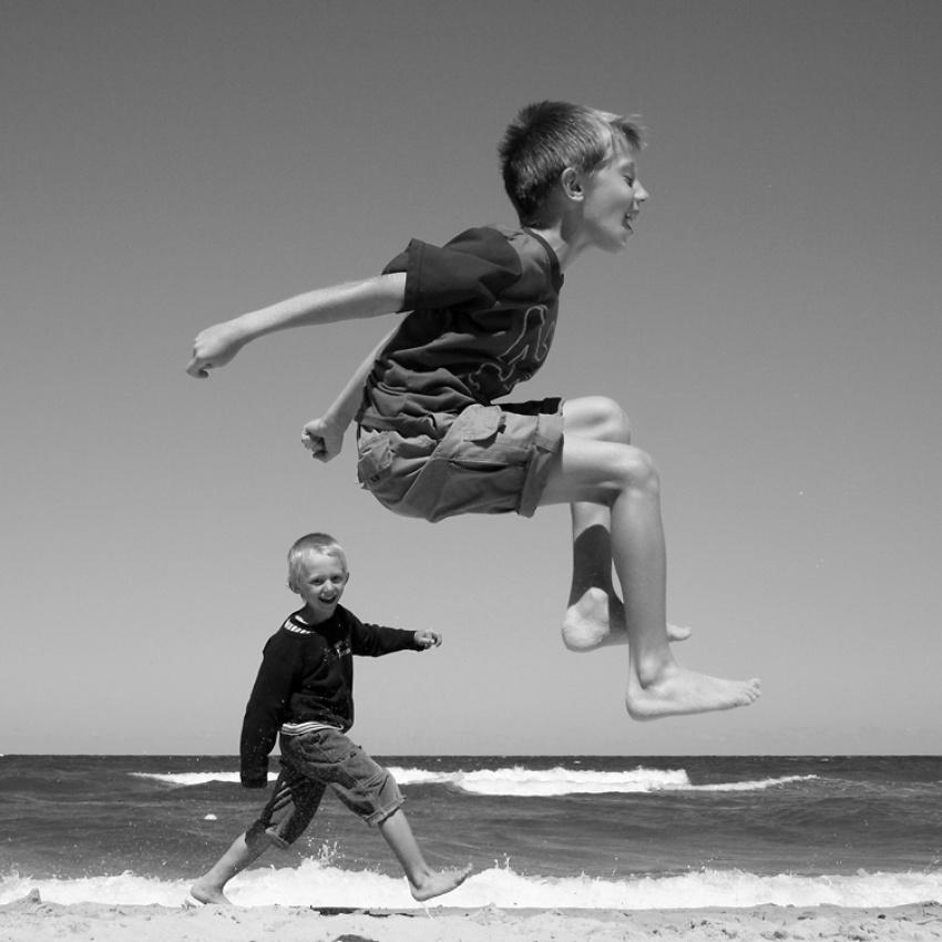 A piece of fine art art photography titled Jump by rust