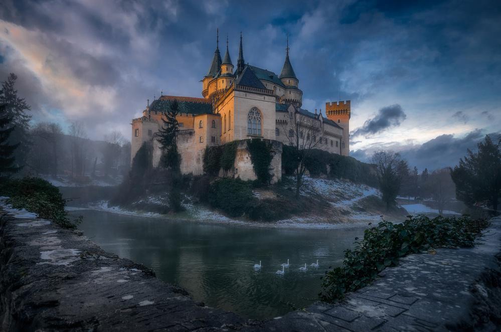 A piece of fine art art photography titled Bojnice Castle by Karol Važan