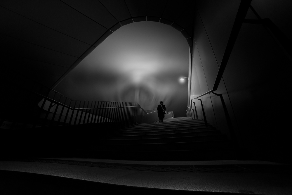 View this piece of fine art photography titled Stairway to Heaven by domenico petrocca