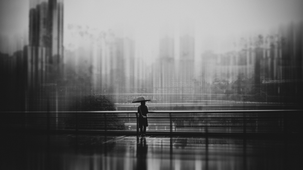 A piece of fine art art photography titled It's a Sad Day by 老T