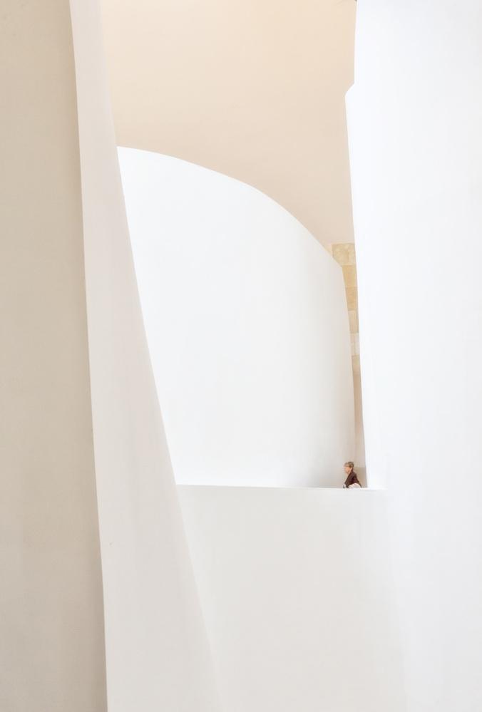 A piece of fine art art photography titled Guggenheim Study #2 by Cheryl Slechta